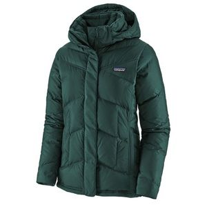 """NWT Patagonia """"down with it"""" jacket in piki green"""